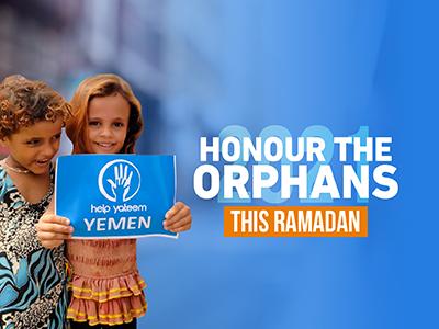 Help Yateem sponsor orphan